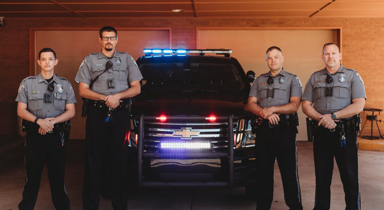 elk city police department - CPL. Wood, LT. Fuller, CPL. Mach & SGT. Cox