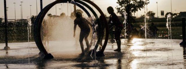 Community Splash Pad at Ackley Park West